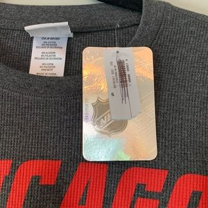 Old Navy Shirts - NHL Chicago Blackhawks Grey Long Sleeve Thermal